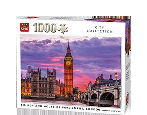 Generic 1000pcs Big Ben & Parliament