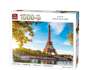 Generic 1000pcs Eiffel Tower Paris