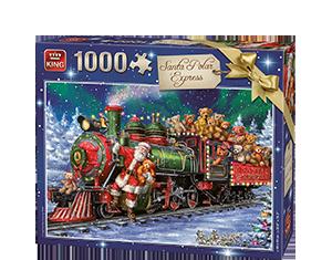 Generic 1000pcs Santa Polar Expres