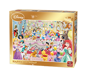 Disney 1500pcs Happy Birthday