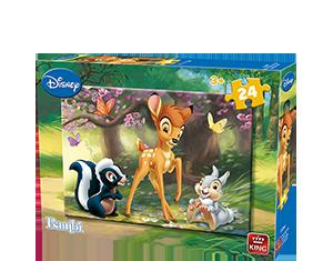 Disney 24pcs Bambi A+B
