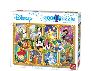 Disney 1000pcs Magical Moments