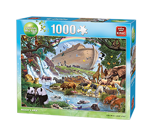 Animal World 1000pcs Noah's Ark