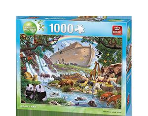 Animal World 1000pcs Noah's Ark