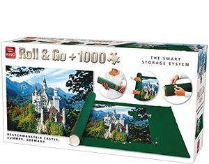 Roll&Go + 1000pcs Neuschwanstein Castle, Germany