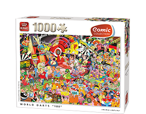 Comic 1000pcs Darts