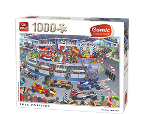 Comic 1000pcs Pole Position