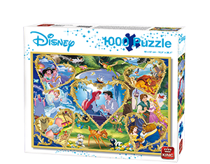 Disney 1000pcs Hearts Of Gold