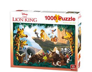 Disney 1000pcs Lion King – Collectors Edition