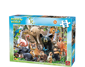 Animal World 99pcs Jungle Party