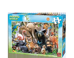 Animal World 99pcs Jungle Party