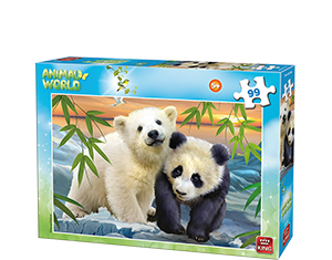 Animal World 99pcs Bears
