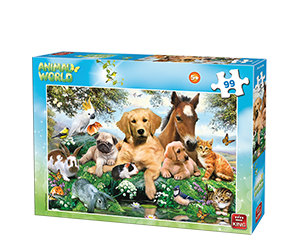 Animal World 99pcs Farm Animals