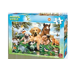 Animal World 99pcs Farm Animals