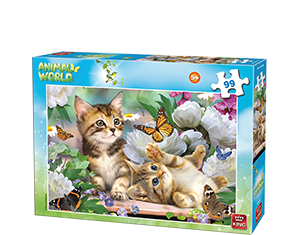 Animal World 99pcs Kittens