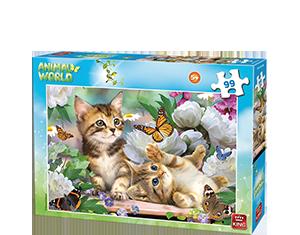 Animal World 99pcs Kittens