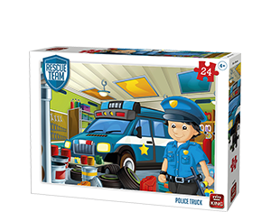 Police Truck 24pcs