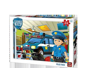 Police Truck 24pcs