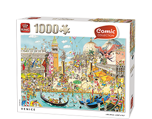 Comic 1000pcs Venice