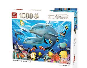 Generic 1000pcs Dolphin Family