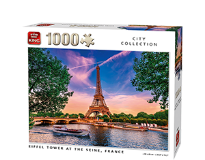 Generic 1000pcs Eiffel Tower At The Seine