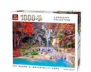 Generic 1000pcs Tat Kuang Si Waterfalls