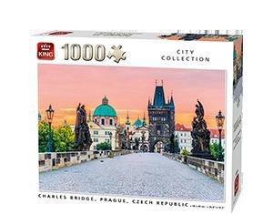 Generic 1000pcs Charles Bridge, Prague