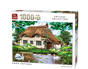 Generic 1000pcs Swan Cottage