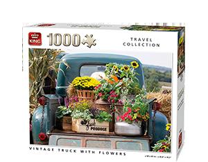 Generic 1000pcs Vintage Truck