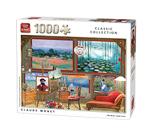 Generic 1000pcs Claude Monet