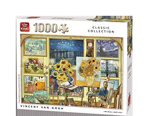 Generic 1000pcs Vincent Van Gogh
