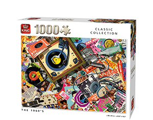 Generic 1000pcs The 1960's