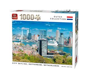 Generic 1000pcs City Skyline Rotterdam