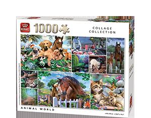 Generic 1000pcs Animal World