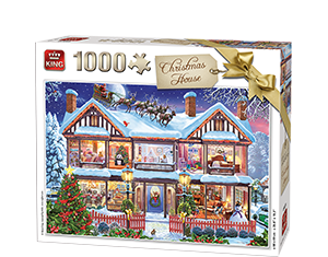 Generic 1000pcs Christmas House