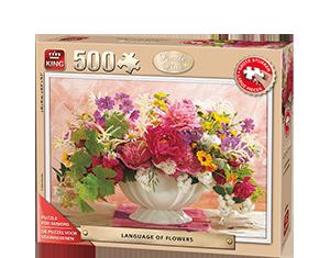 Puzzel Plus 500pcs Language Of Flowers