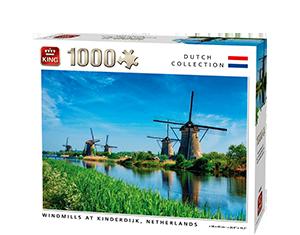 Generic 1000pcs Windmills At Kinderdijk