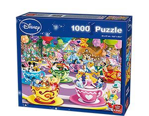Disney 1000pcs Mad Tea Cup
