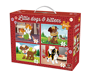 4in1 Koffer Little Dogs & Kittens