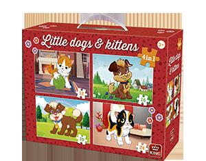 4in1 Koffer Little Dogs & Kittens