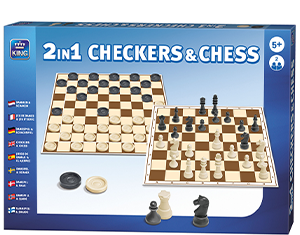 2in1 Checkers & Chess