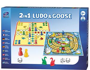 2in1 Ludo & Goose