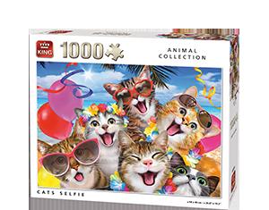 Generic 1000pcs Cats Selfie