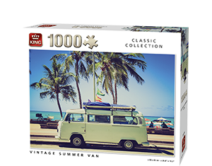 Generic 1000pcs Vintage Summer Van