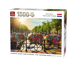 Generic 1000pcs Sunrise Over Amsterdam