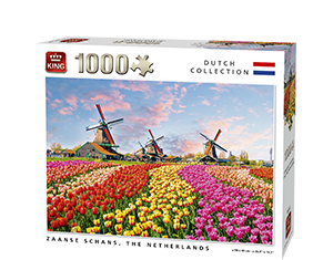 Generic 1000pcs Zaanse Schans