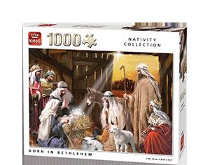 Generic 1000pcs Born In Bethlehem